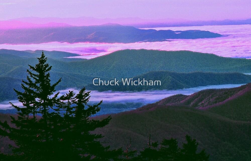 SUNRISE, CLINGMANS DOME by Chuck Wickham