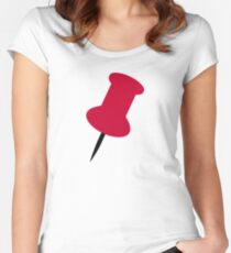 Pin icon Women's Fitted Scoop T-Shirt