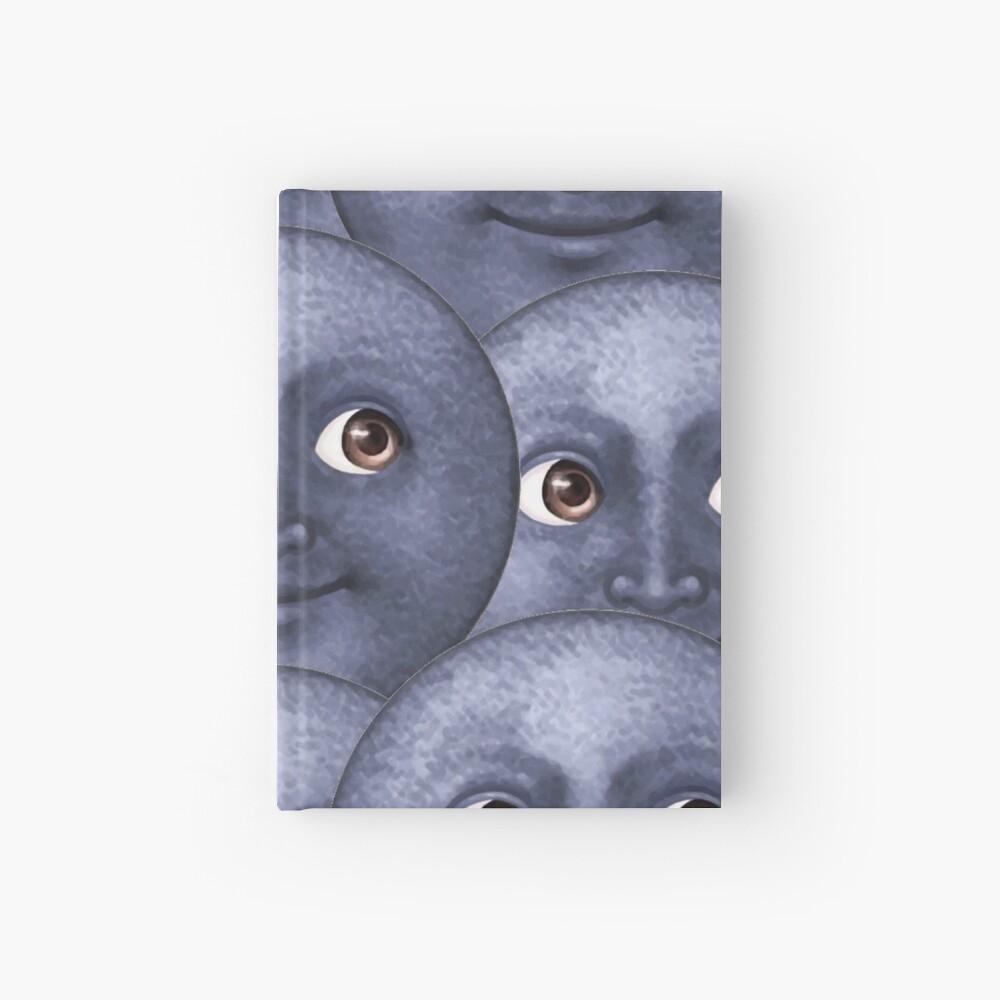 moon emoji  Hardcover Journal