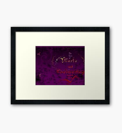 The Love of Eerie and Enchanting Artwork group Framed Print