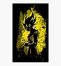 Goku Super Saiyan Photographic Print