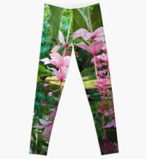 Reflection of Flowers Leggings