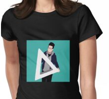 Triangle Dan Womens Fitted T-Shirt