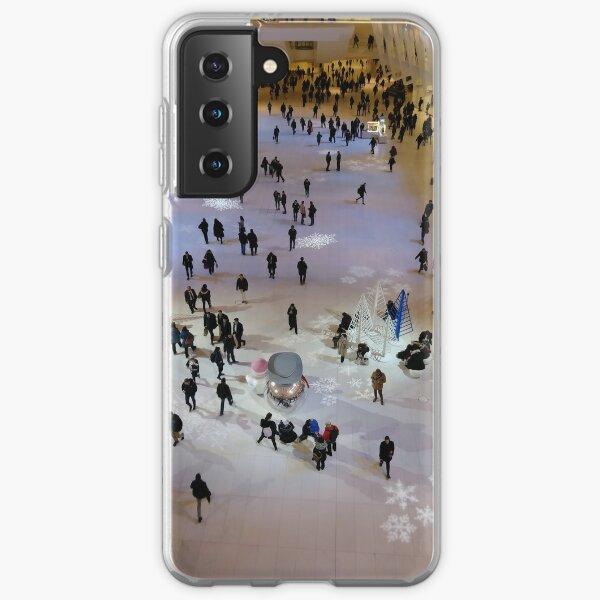 Street, City, Buildings, Photo, Day, Trees, New York, Manhattan, Brooklyn Samsung Galaxy Soft Case