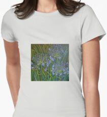 Blue agapanthus 2006 Acrylic on canvas T-Shirt
