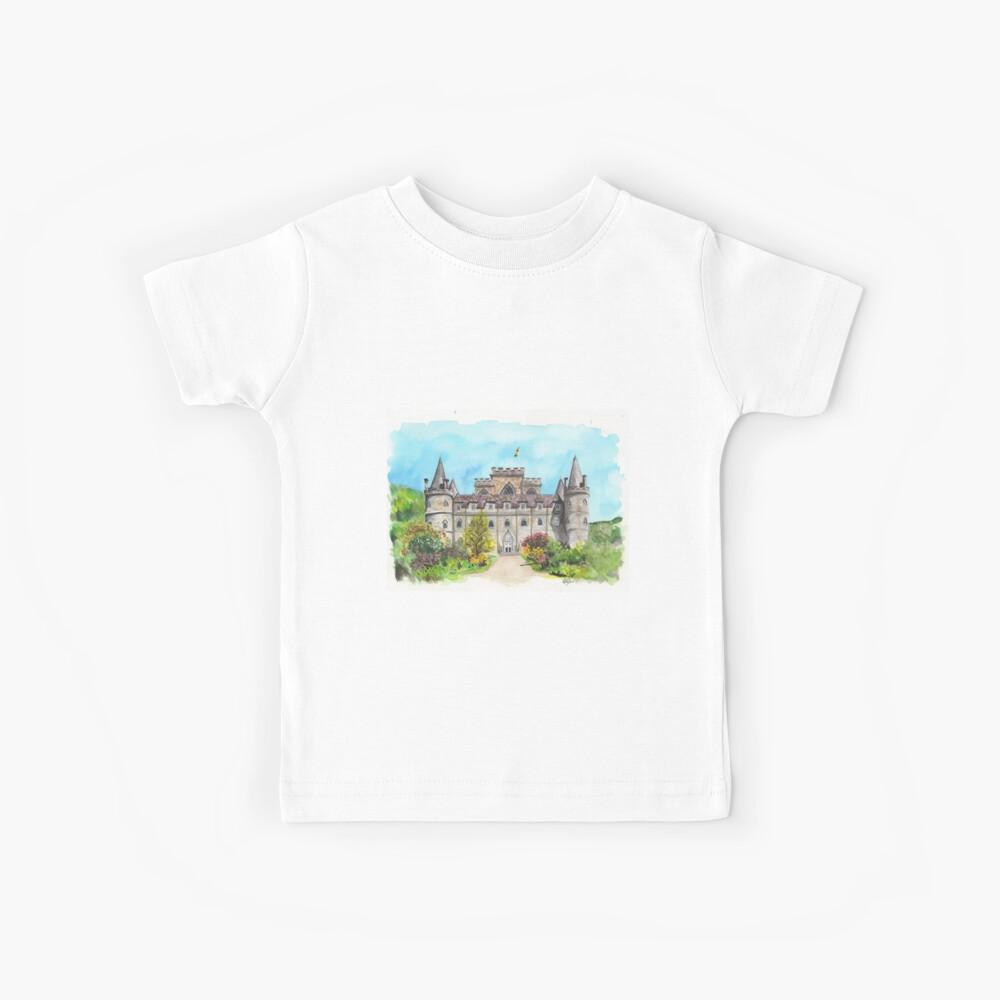 Castillo de Inveraray Camiseta para niños