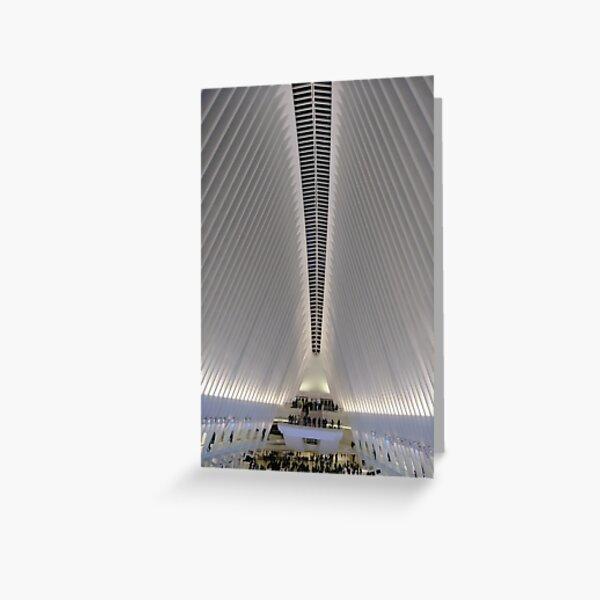 Street, City, Buildings, Photo, Day, Trees, New York, Manhattan, Brooklyn Greeting Card