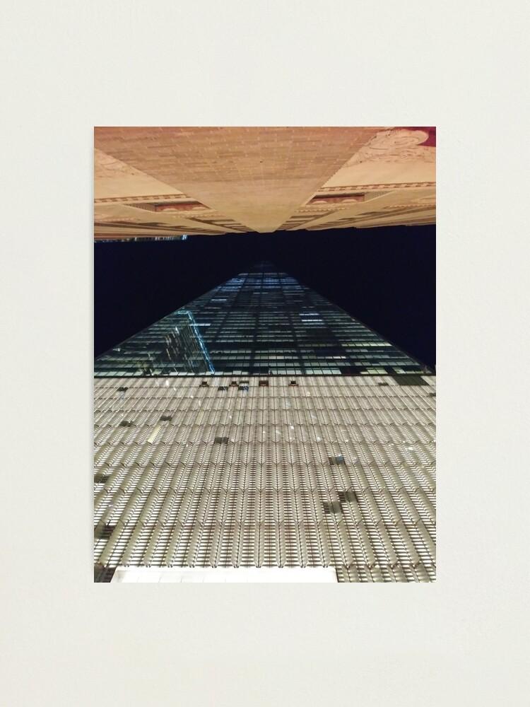 Alternate view of Street, City, Buildings, Photo, Day, Trees, New York, Manhattan, Brooklyn Photographic Print