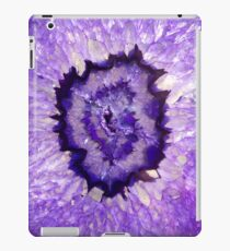 Purple Agate Geode iPad Case/Skin