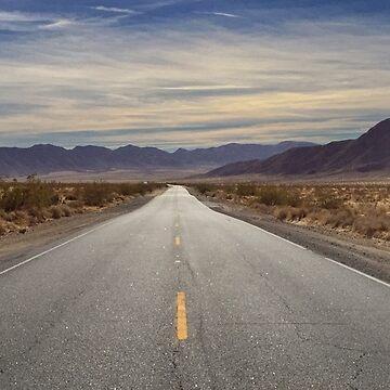 On an Old Desert Highway by pberggr1