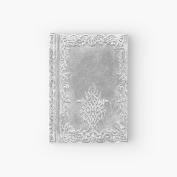 Tribal Edging Book Cover Light Hardcover Journal