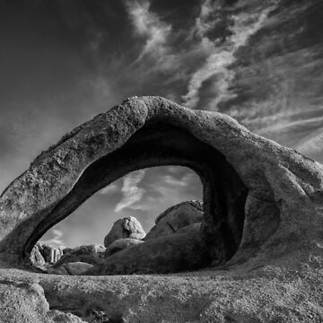 Scorpius Arch BW #1 by pberggr1