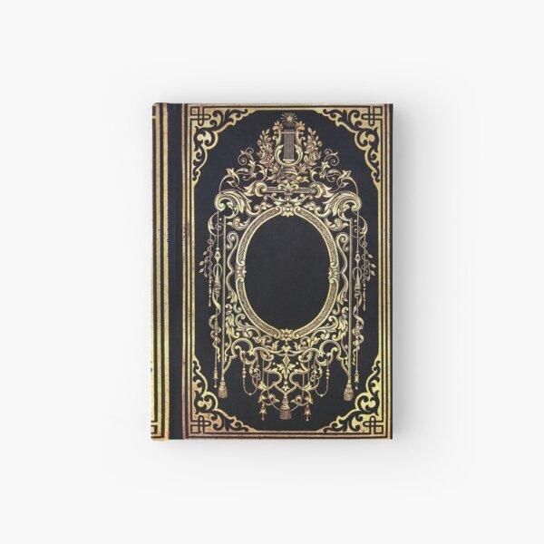 Ornate Gold Frame Book Cover Hardcover Journal