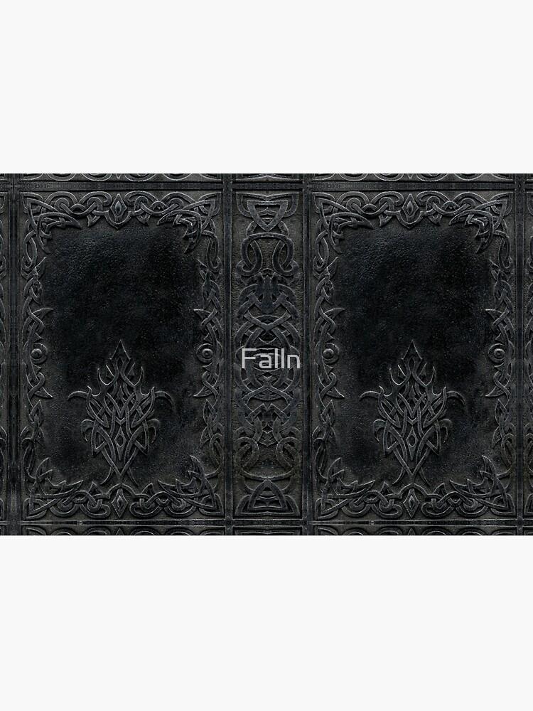 Tribal Edging Book Cover Dark by Falln