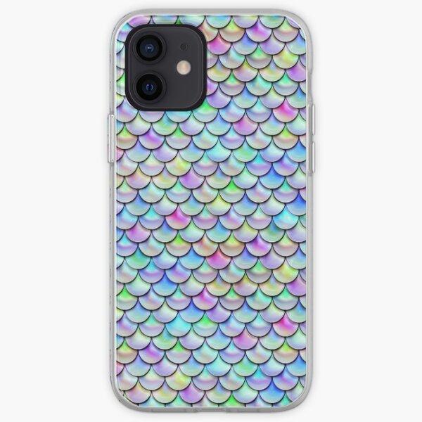 Rainbow Bubble Scales iPhone Soft Case