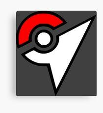 Pokemon - Gym Logo Canvas Print