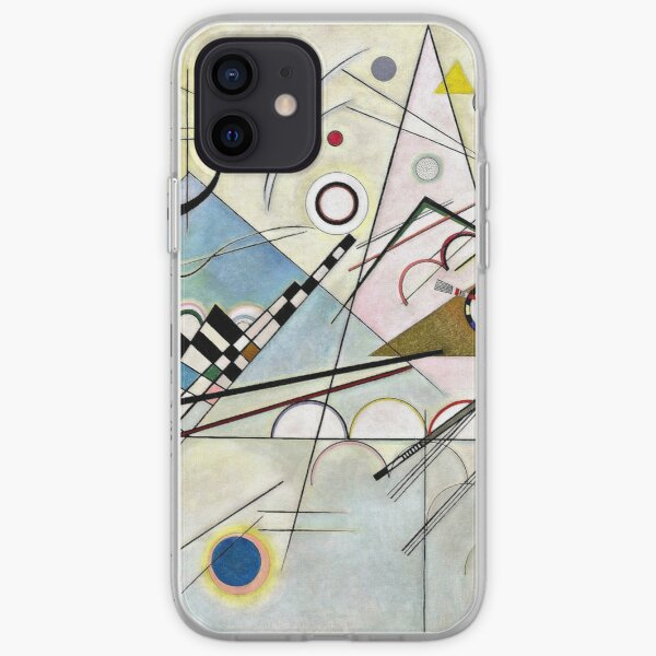 Kandinsky - Composition 8, abstract artwork iPhone Soft Case
