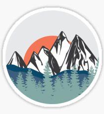 Berge Sticker