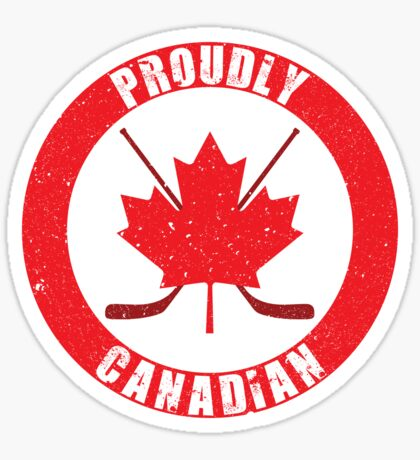 Proudly Canadian (Distressed) [Roufxis - RB] Sticker