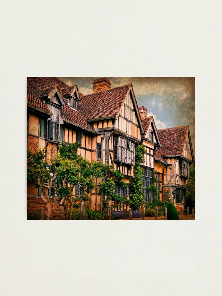 Alternate view of Wick Manor Photographic Print