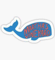 Marthas Vineyard Geotag Sticker