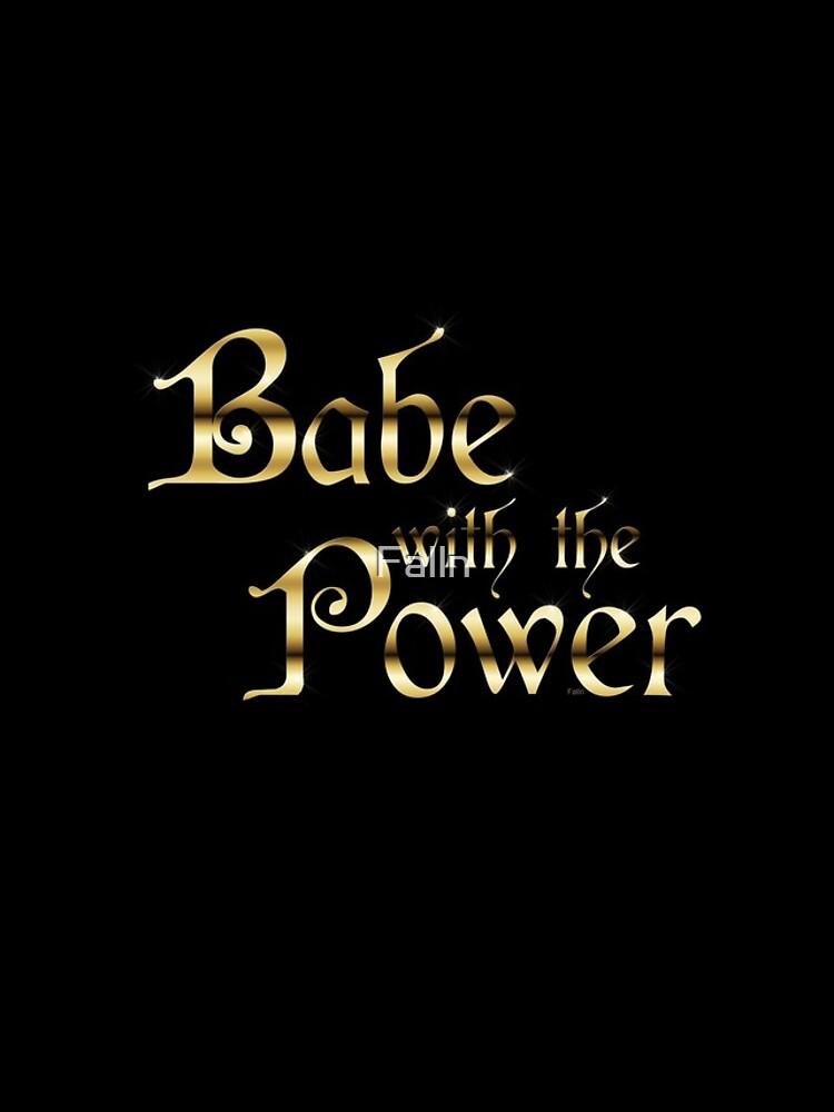 Labyrinth Babe With The Power (negro bg) de Falln