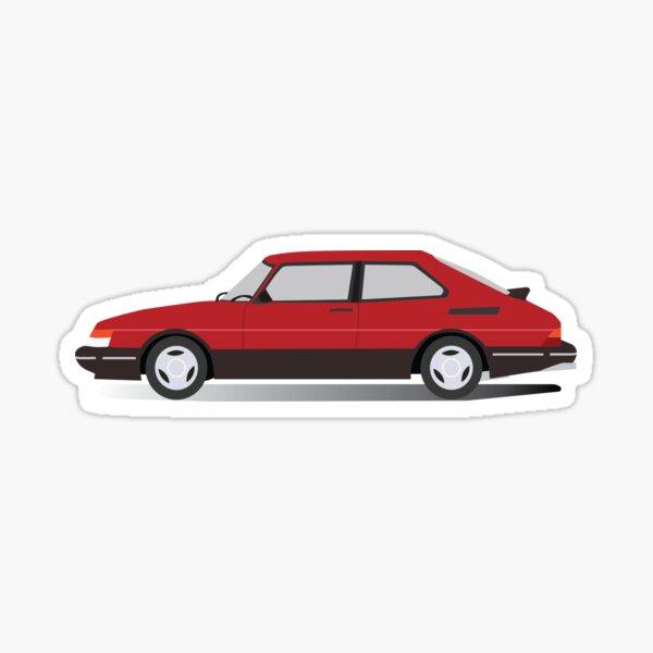 Saab 900 Sticker