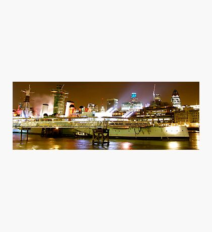 HMS BELFAST LONDON Photographic Print