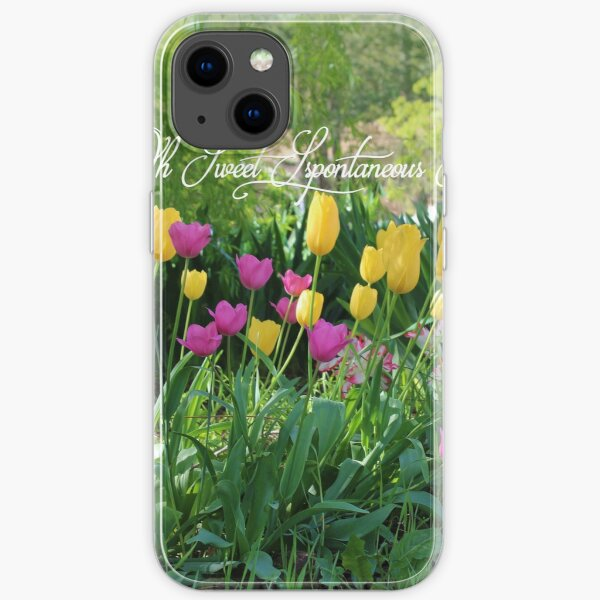Oh Sweet Spontaneous Spring iPhone Soft Case