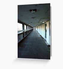 Park Hill Flats Greeting Card