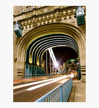 TOWER BRIDGE MOVEMENT Photographic Print