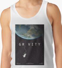 Gravity, alternative poster, printable, Sandra Bullock, George Clooney, Alfonso Cuaron, nasa astronaut, movie poster, film poster Camiseta de tirantes