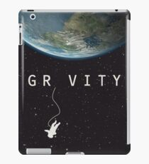 Gravity, alternative poster, printable, Sandra Bullock, George Clooney, Alfonso Cuaron, nasa astronaut, movie poster, film poster Vinilo o funda para iPad