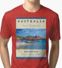 Birubi Rock Pools Travel Tri-blend T-Shirt