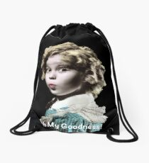Shirley Temple Oh My Goodness Drawstring Bag