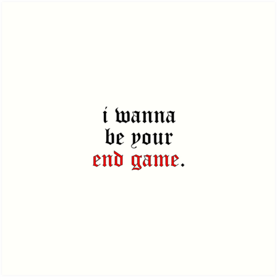 Taylor swift i wanna be your end game art prints by vcfc taylor swift i wanna be your end game by vcfc stopboris Images