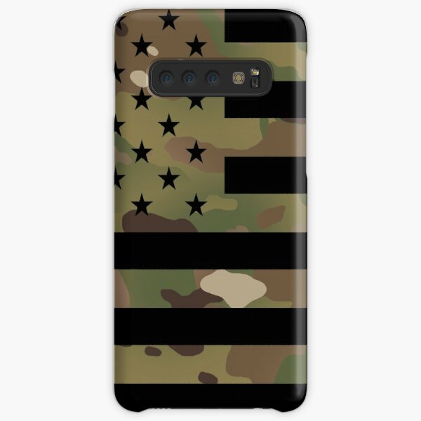 U.S. Flag: Military Camouflage Samsung Galaxy Snap Case