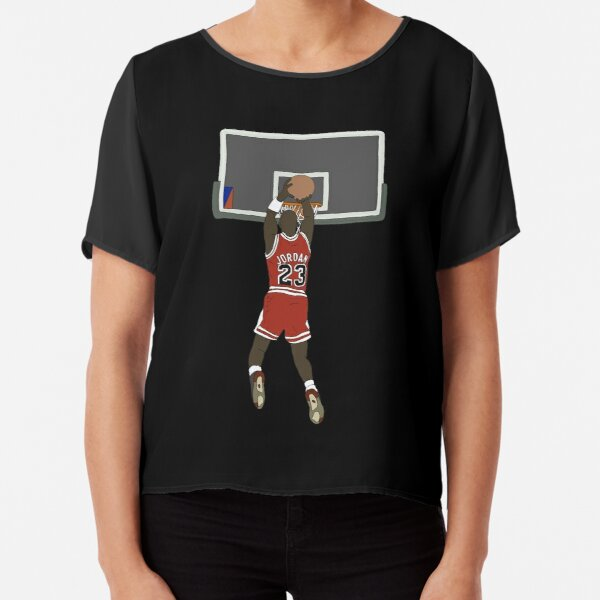 Michael Jordan Game Winner Chiffon Top