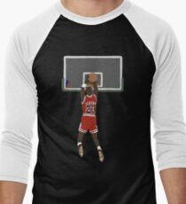 Michael Jordan Game Winner Baseball ¾ Sleeve T-Shirt