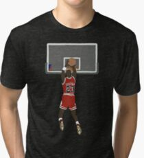 Michael Jordan Game Winner Tri-blend T-Shirt