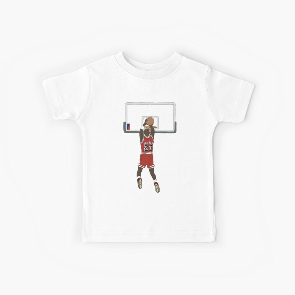 Michael Jordan Game Winner Kids T-Shirt