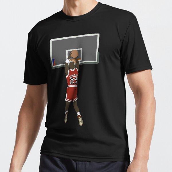 Michael Jordan Game Winner Active T-Shirt