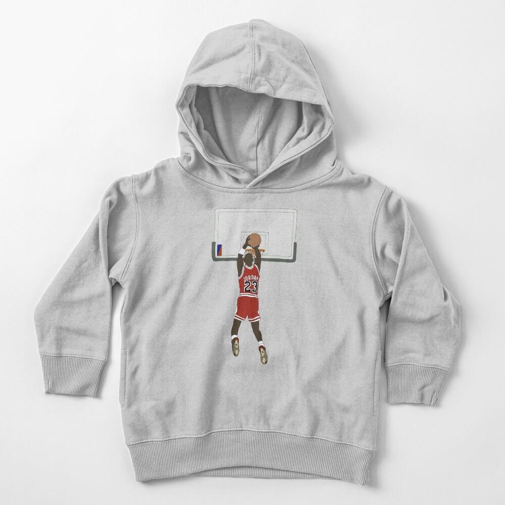 Michael Jordan Game Winner Toddler Pullover Hoodie