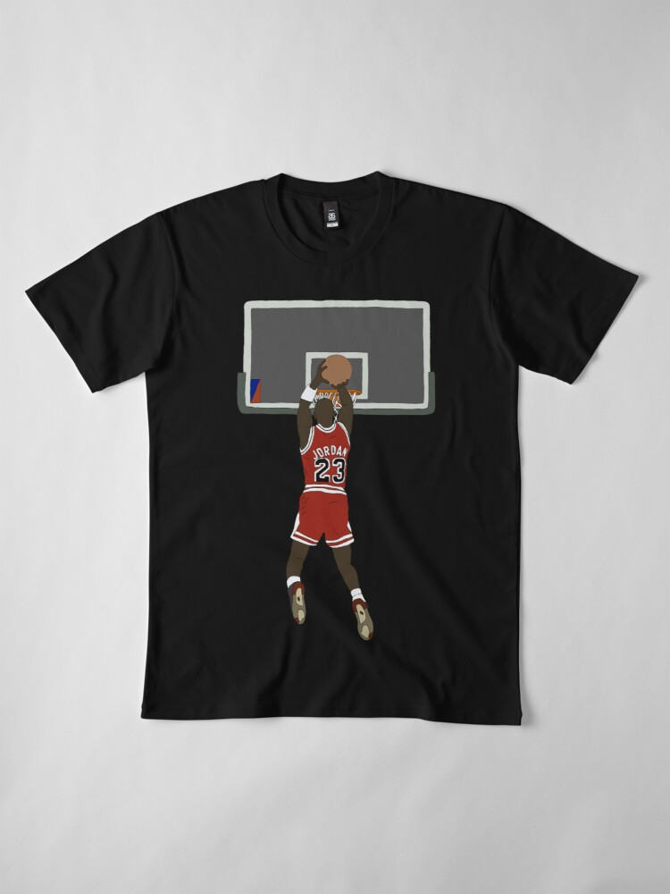 Alternate view of Michael Jordan Game Winner Premium T-Shirt