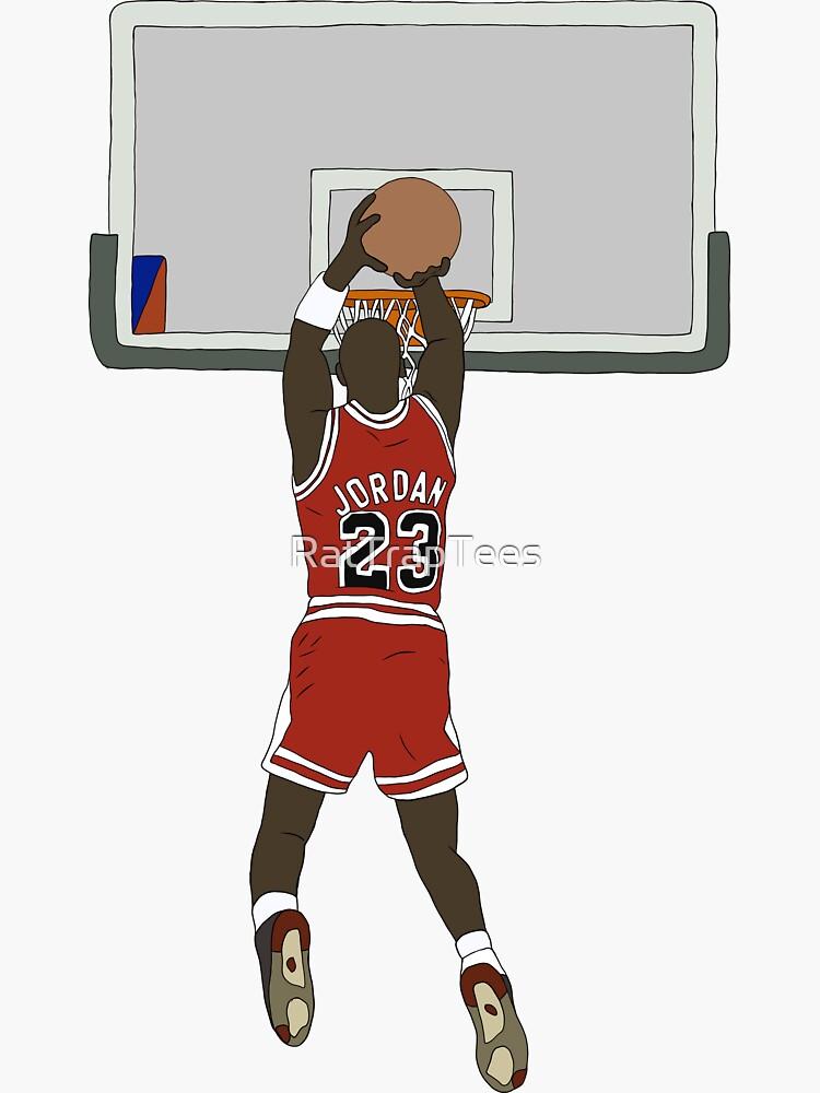 Michael Jordan Game Winner by RatTrapTees