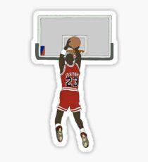 Michael Jordan Game Winner Sticker