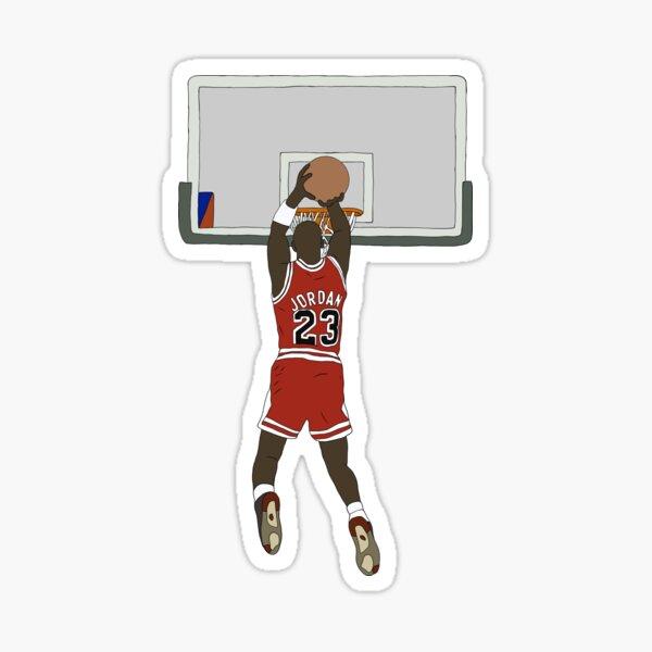 Michael Jordan Game Winner Pegatina