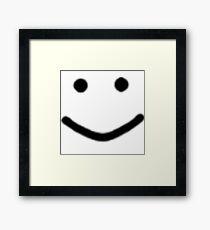 Oof smile Framed Print