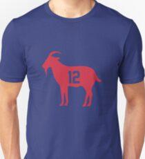 Goat Tom Brady 12 Merchandise Unisex T-Shirt edd30fa7d