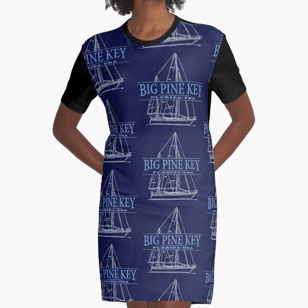 Big Pine Key Graphic T-Shirt Dress